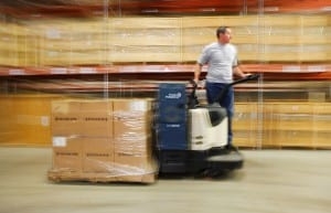Forklift fuel cell