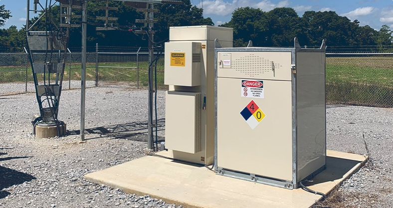 GenSure fuel cell backup power customer site